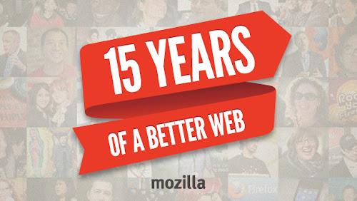 Mozilla compie 15 anni