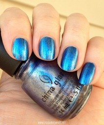 China Glaze Blue Bells Ring 4