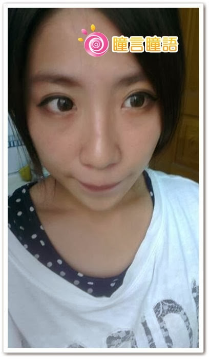 韓國GEO隱形眼鏡-自然金咖8