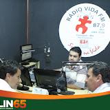 Entrevista na Rádio Vida FM 87,9