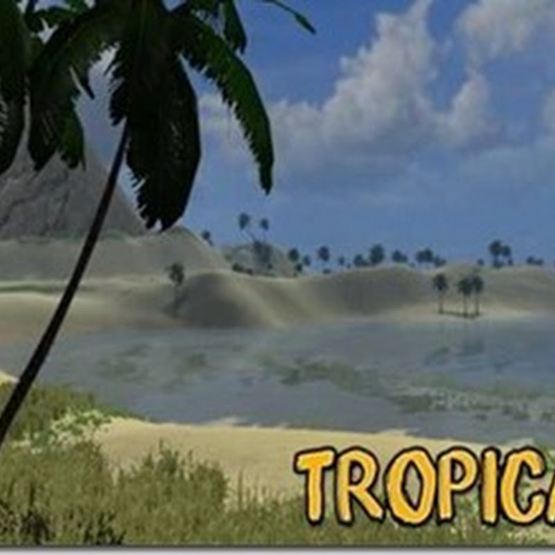 Farming simulator 2011 - Tropical Farm (mappa)