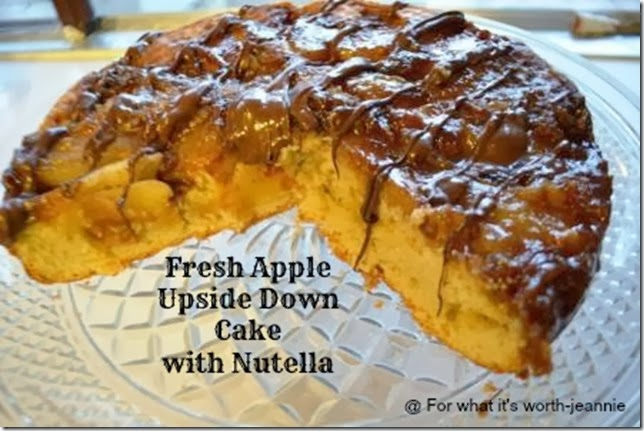 apple_upside_down_cake_nutella