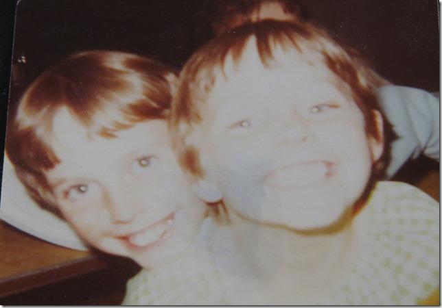 Lara and I at Flintstone Park in Rapid City, South Dakota 1978