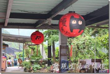 平溪線一日遊-侯硐貓村。這裡的店家有許多都是以貓造型來吸引客人。