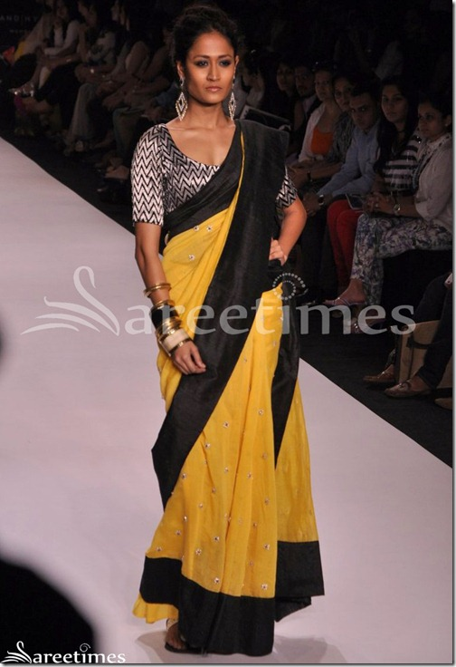 Payal_Singhal_Yellow_Saree