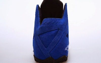nike lebron 11 nsw sportswear ext blue suede 2 07 Nike LeBron XI (11) EXT Blue Suede Detailed Pictures
