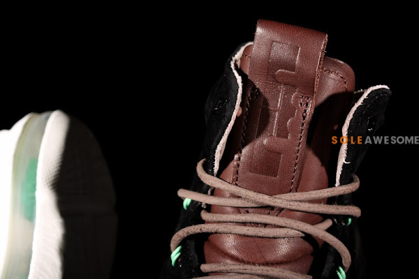 Summer 2013  LeBron X EXT Black Suede QS 607078001