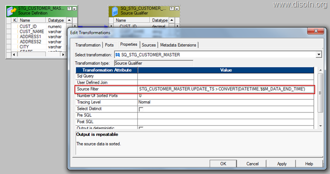Informatica Change data capture