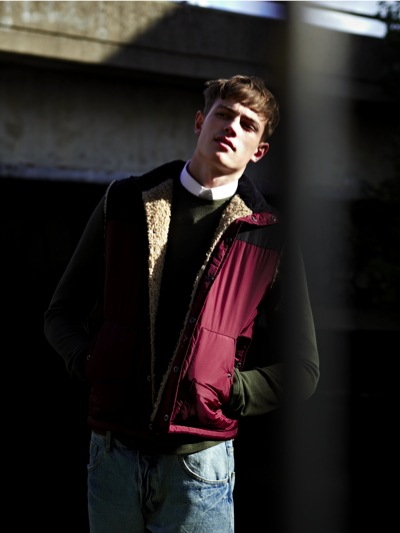 Tom Barker @ Elite London by Duane Nasis  for Topman F/W 2011. Styled by Harry Lambert