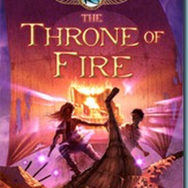 Review: The Throne of Fire [Kane Chronicles Book 2]
