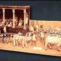 23.- Estatuillas de la tumba de Meket-ra