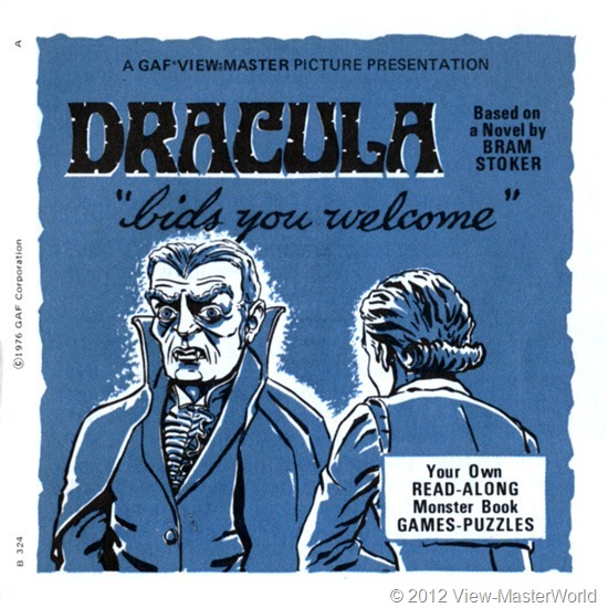 View-Master Dracula (B324), Booklet Cover