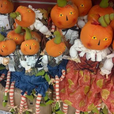 ブサイクかぼちゃ人形