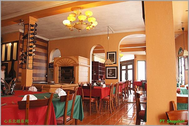 沙坝的餐厅