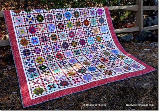 Quiltville's Quips & Snips!!: I'm a Cover Girl! Quiltmaker May ... : garden party quilt pattern - Adamdwight.com