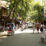Rue du vieux quartier de Hanoi
