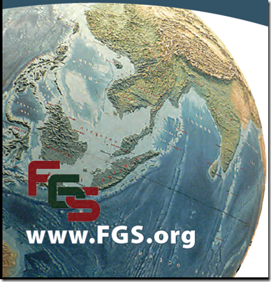 The planet on the cover of the FGS 2013 conference brochure