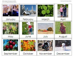 image about Months of the Year Printable known as Weeks of the Calendar year Printable