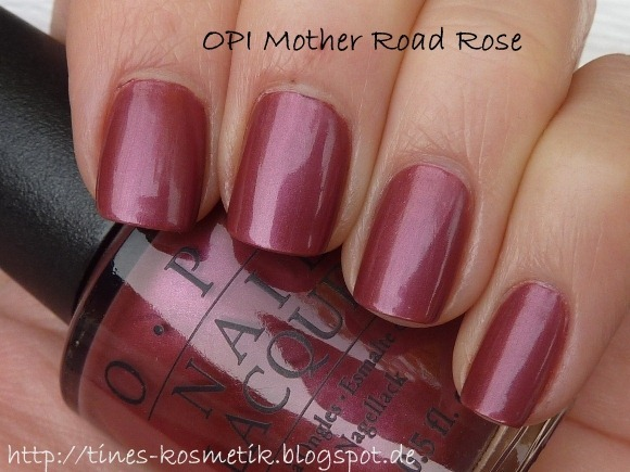 OPI Mother Road Rose 1
