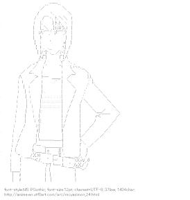 [AA]Hasegawa Haruka (Moyasimon)