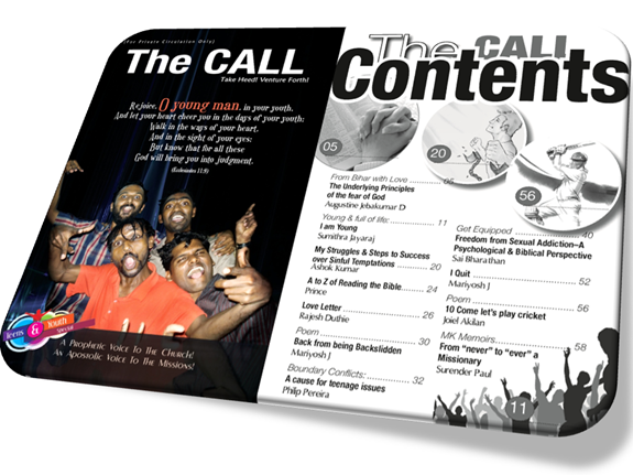 The CALL Teens & Youth Special 2013 Contents