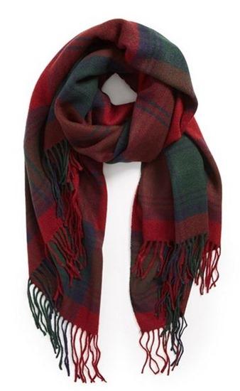 redplaidscarf