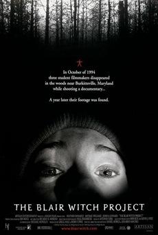 Poster Proyecto de la bruja de Blair