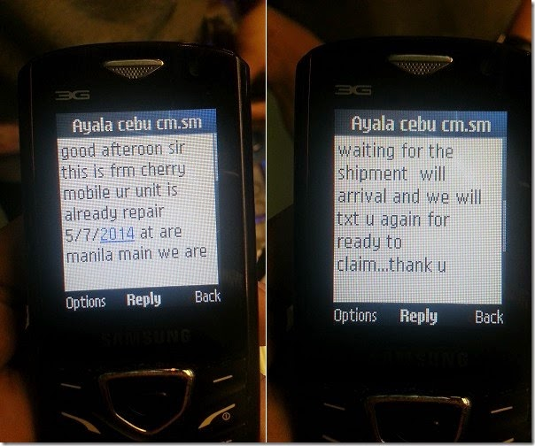 Cherry Mobile customer service
