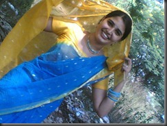 sandra-jose-hot-pic in saree