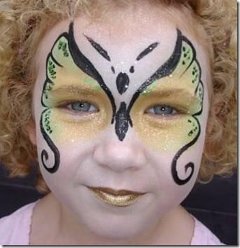 maquillaje mariposa halloween (4)