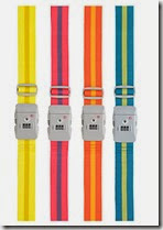 Coloured Luggage Strap