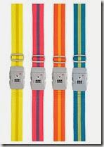 Coloured Luggage Strap