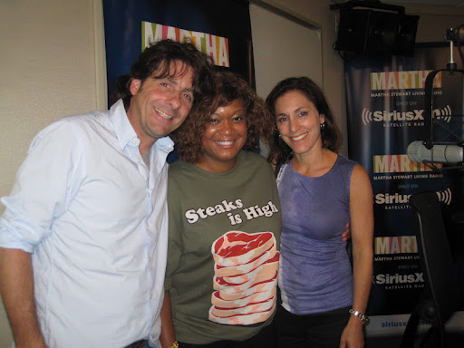 Betsy and Bryan with Sunny Anderson, host of Food Network's 