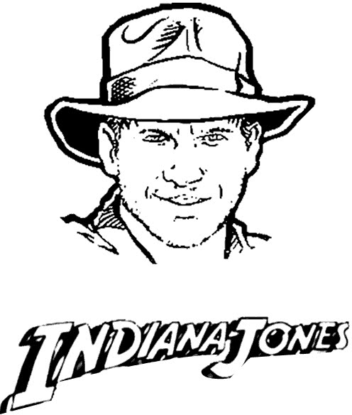 indiana jones 4 coloring pages - photo#26