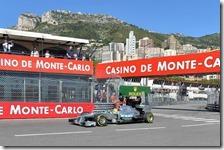Rosberg nelle prove libere del gran premio di Monaco 2013