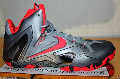 nike lebron 11 ps elite silver crimson camo 1 10 Nike LeBron XI PS Elite Wolf Grey Initial Drop in April for $275