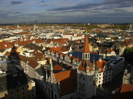 Imagini Bavaria: orasul vechi vazut de sus