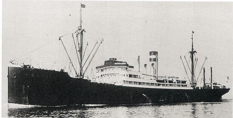 SS AMASIS. Foto del libro Merchant Fleets of the World. 1939.JPG