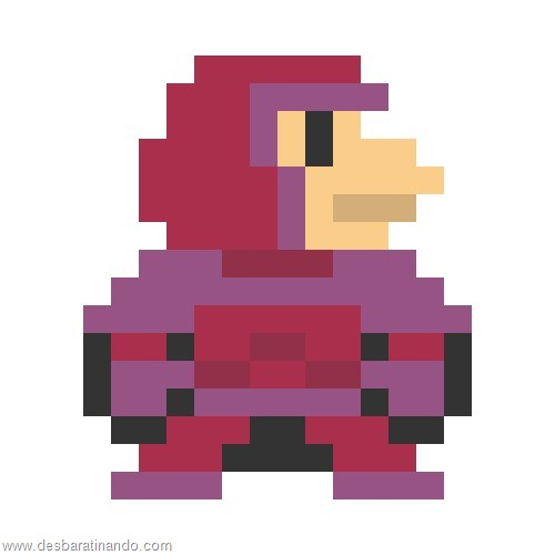 super herois e viloes em 8 bits x man (13)
