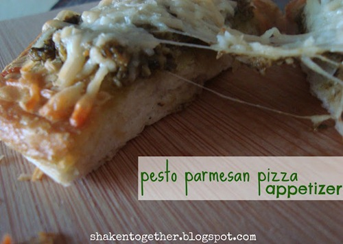 pesto parmesan pizza appetizer BLOG