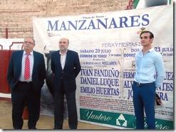 Presentación carte del Feria Taurina  2013 en Manzanares- C.Real