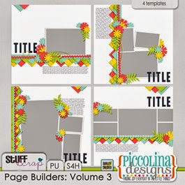 Piccolina Designs Page Builders Volume 3