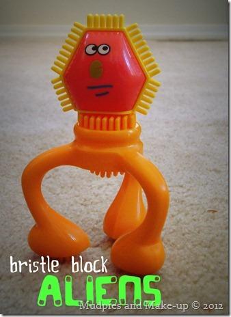 Bristle Block Aliens