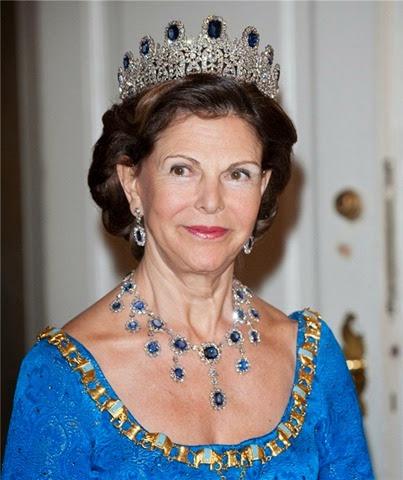 Silvia de Suecia en un acto celebrado en Copenhague