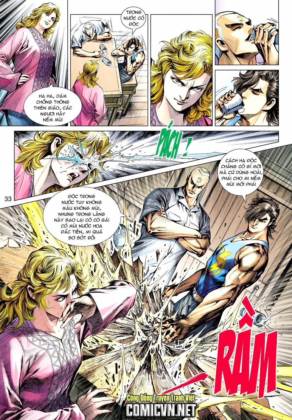 Tân Tác Long Hổ Môn chap 488 - Trang 32