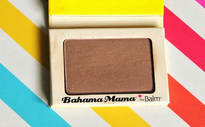 the balm bahama mama bronzer review swatch