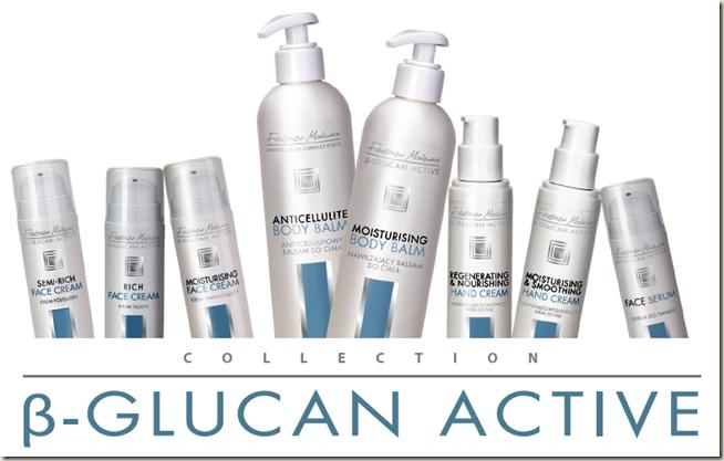Козметичните продукти от серията β-GLUCAN ACTIVE, FM Group