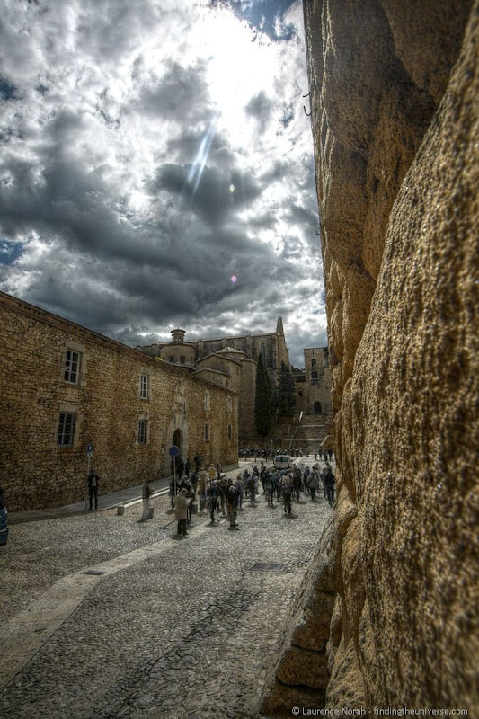 Girona back streets