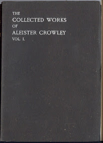 Cover of Aleister Crowley's Book The Works Of Aleister Crowley Vol I Part 3