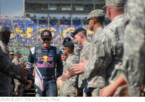 'NASCAR greeting' photo (c) 2011, The U.S. Army - license: http://creativecommons.org/licenses/by/2.0/